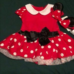 Disney baby Christmas dress